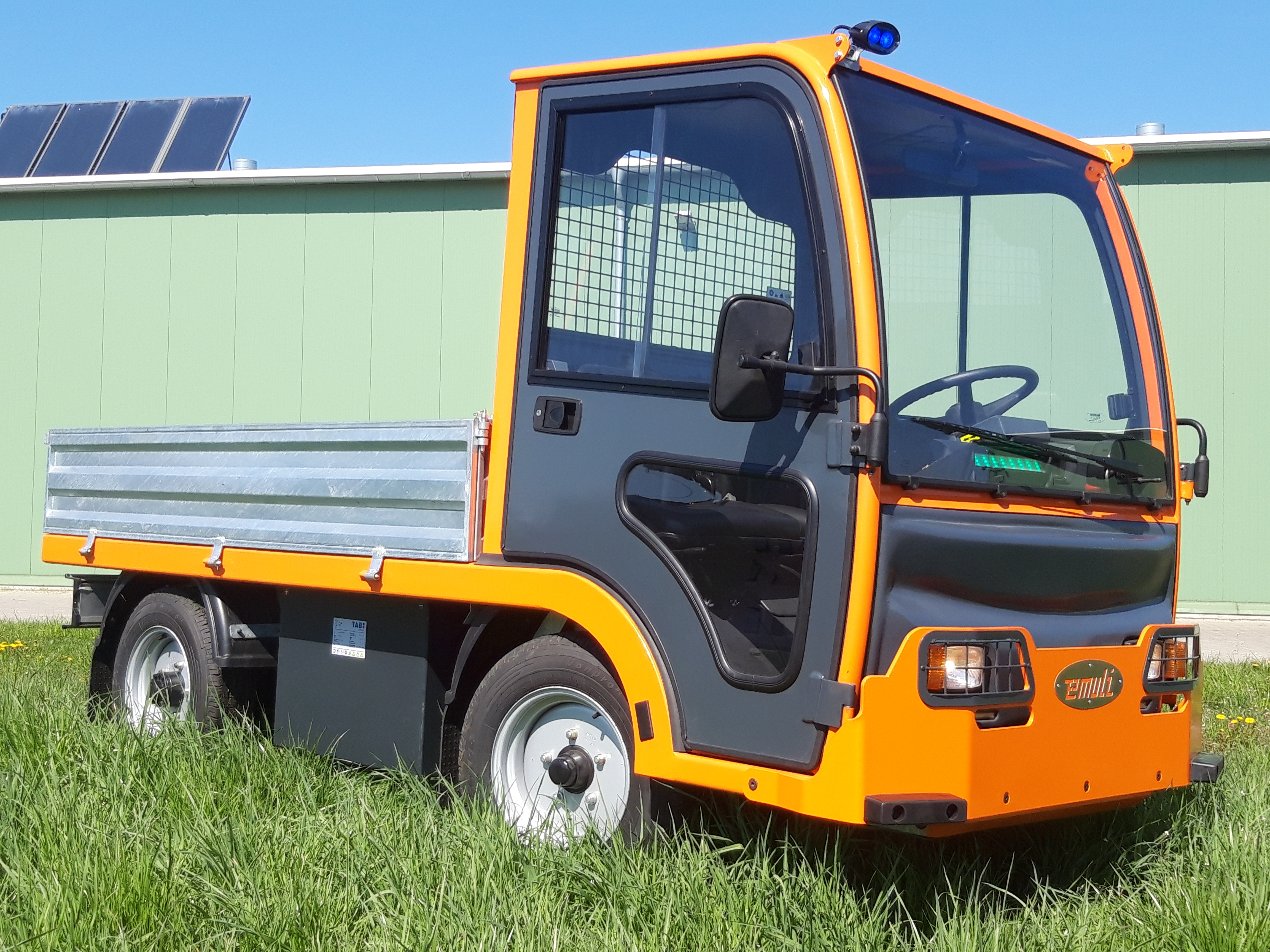Elektryczny Pojazd Transportowo Platformowy EMULI
