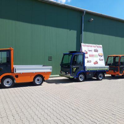 Elektryczne Pojazdy Transportowo Platformowe