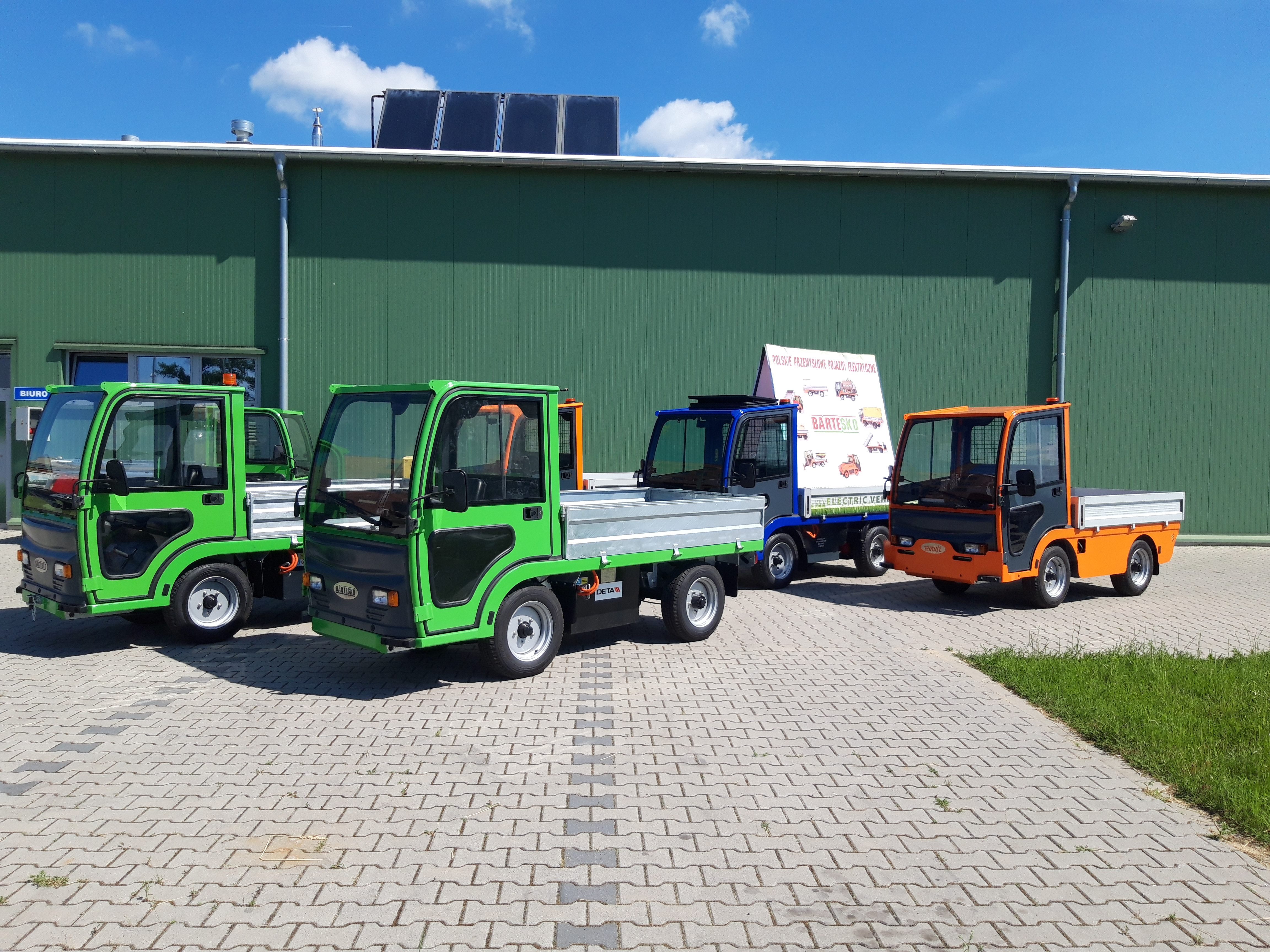 Elektryczne Pojazdy Transportowe BARTESKO